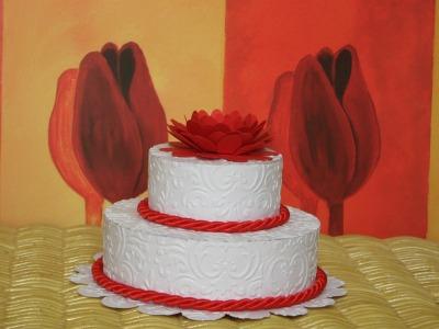 Cake e mini cake rossa