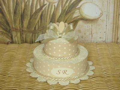 Cake pois crema