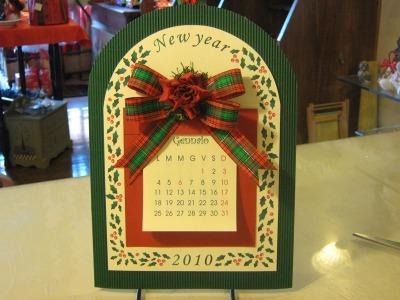 Calendario archetto
