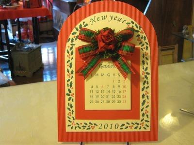 Calendario archetto 2