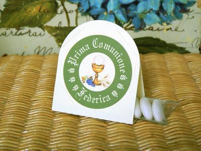 Kit 02 Prima Comunione verde