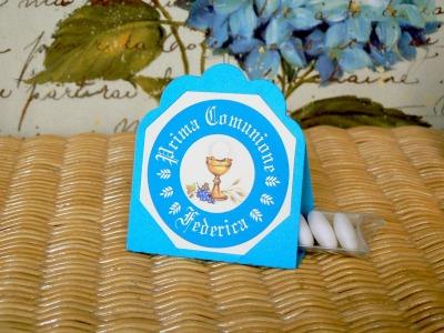 Kit 03 Prima Comunione turchese- azzurro