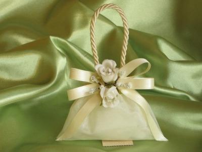 Sacchetto-borsetta organza modello G4
