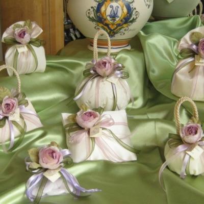 Linea romantica fiori lilla -